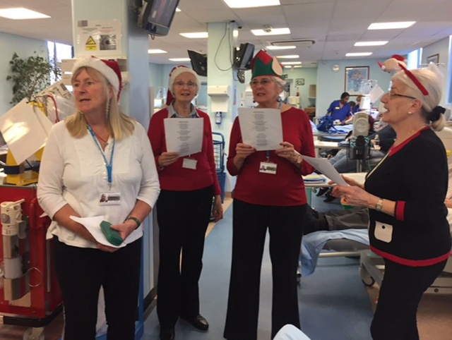 Carols on the Wards
