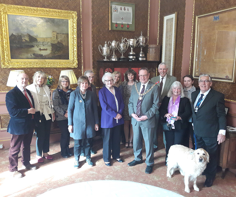 Mayors Parlour reception